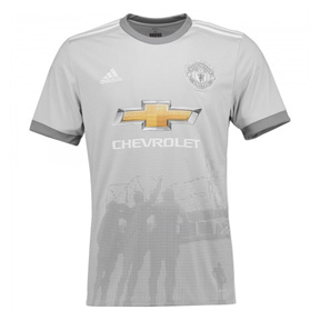 adidas Manchester United Soccer Jersey (Alternate  17/18)