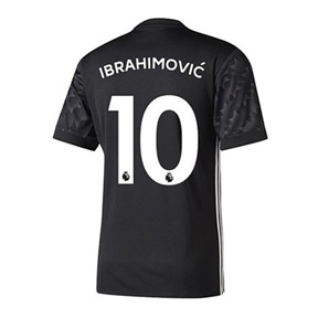 adidas Youth Manchester United Ibrahimovic #10 Jersey (Away 17/18)
