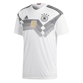 adidas  2018 World Cup Youth Germany Soccer Jersey (Home)