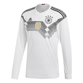 adidas Germany  Long Sleeve Soccer Jersey (Home 18/19)