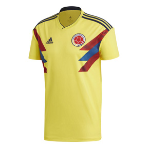 adidas Youth  Colombia World Cup 2018 Soccer Jersey (Home)