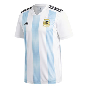 adidas  2018 World Cup Youth Argentina Soccer Jersey (Home)