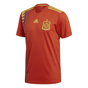 adidas Spain Soccer Jersey (Home 18/19)