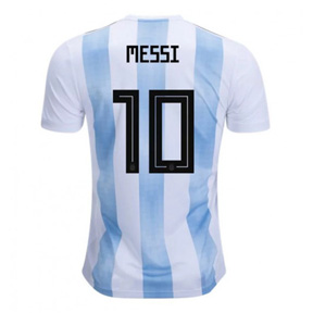 adidas  Argentina Messi #10 World Cup 2018 Soccer Jersey (Home)
