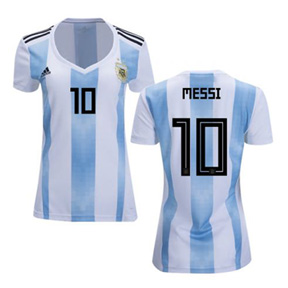adidas Womens   Argentina Messi #10 World Cup 2018 Jersey (Home)