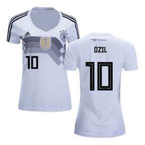 adidas 2018 World Cup Womens Germany Ozil #10 Jersey (Home)