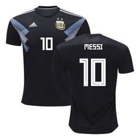 adidas  Argentina  Messi #10 World Cup 2018 Soccer Jersey (Away)