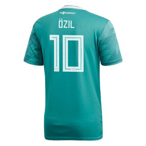 adidas Youth  Germany Ozil #10 World Cup 2018 Jersey (Away)