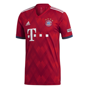 adidas Youth Bayern Munich Soccer Jersey (Home 18/19)