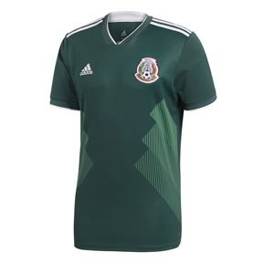 adidas Youth  Mexico World Cup 2018 Soccer Jersey (Home)