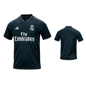 adidas Youth  Real Madrid Soccer Jersey (Away 18/19)