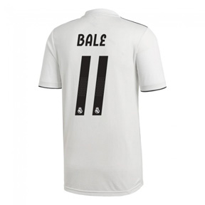 adidas Youth  Real Madrid Bale #11 Soccer Jersey (Home 18/19)