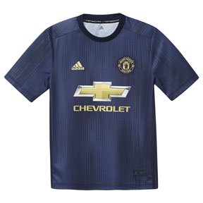 adidas Youth  Manchester United Soccer Jersey (Alternate 18/19)