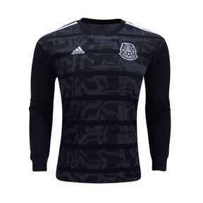 adidas  Mexico Gold Cup 2019 Long Sleeve Soccer Jersey (Home)