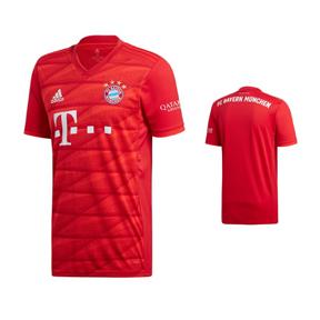 adidas Bayern Munich Soccer Jersey (Home 19/20) @ SoccerEvolution