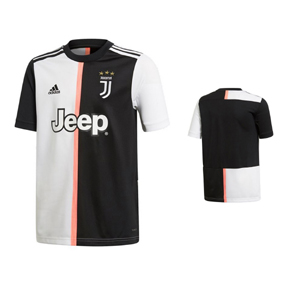 adidas Youth  Juventus  Soccer Jersey (Home 19/20)