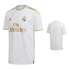 adidas Youth  Real Madrid  Soccer Jersey (Home 19/20)