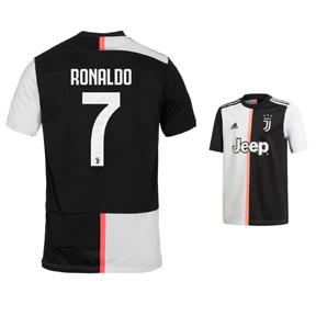 online retailer aec20 5b009 adidas Juventus Cristiano Ronaldo #7 Soccer Jersey (Home 19 ...