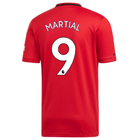 adidas  Manchester United  Martial #9 Soccer Jersey (Home 19/20)