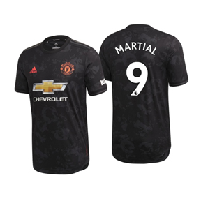 adidas  Manchester United  Martial #9 Soccer Jersey (Alternate 19/20)