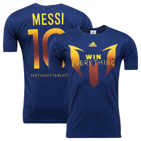 adidas Lionel Messi Be The Difference Soccer Tee