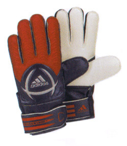adidas Fingersave Young Pro Pro Soccer Goalkeeper Glove (Ruby Red)