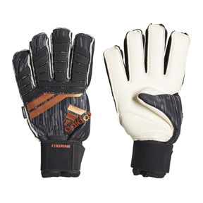 adidas  Predator  Pro Fingersave Soccer Goalie Glove (Black/Copper)