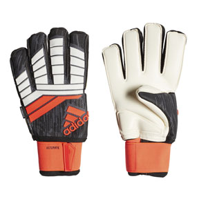 adidas Predator  18 Ultimate Fingersave Goalie Glove (Solar Red)