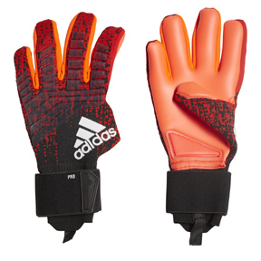 adidas  Predator   Pro Soccer Goalkeeper Glove (Orange/Black)
