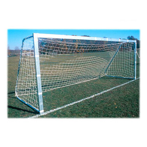 GOAL Sporting Goods Official Square Post Unpainted Soccer Goal