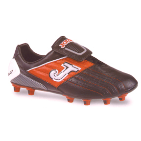 Joma Super Copa Pulsor Soccer Shoes (Black/Red/White)