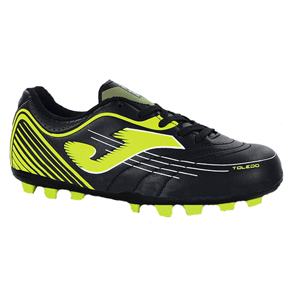 Joma Youth Toledo 401 FG Soccer Shoes (Black/Yellow)