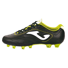 Joma Aguila FG Soccer Shoes (Black/White/Yellow)