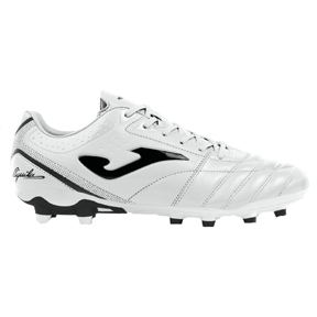 Joma Aguila Gol 902 FG Soccer Shoes (White/Black)