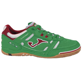Joma Lozano Futsal / Indoor Soccer Shoes (Green/Red)