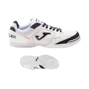 Joma  Top Flex 802 Indoor Soccer Shoes (White)