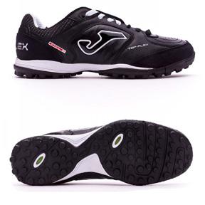 Joma  Top Flex 301 Turf Soccer Shoes (Black/White)