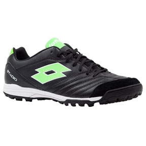 Lotto  Stadio 300 II Turf Soccer Shoes (Black/Mint)