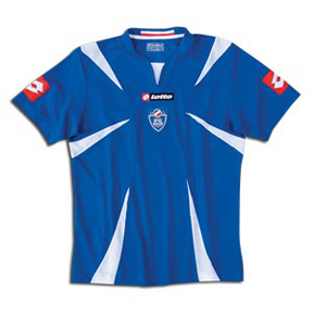 Lotto Serbia-Montenegro Soccer Jersey (Away 06/07)