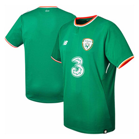 New Balance Ireland Soccer Jersey (Home 17/18)