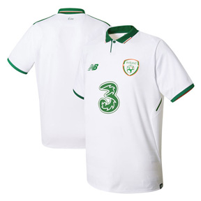 New Balance Ireland Soccer Jersey (Away 17/18)