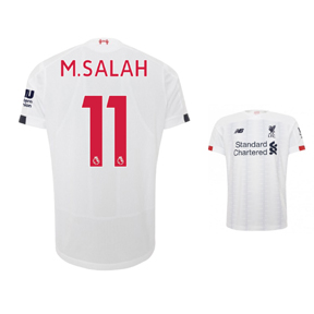 New Balance  Liverpool  Salah #11 Soccer Jersey (Away 19/20)