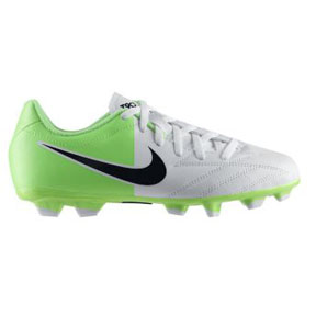 Nike Youth Total 90 Shoot IV FG Soccer Shoes (Electric Green)