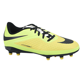 Nike Youth HyperVenom Phelon FG Soccer Shoes (Vibrant Yellow)