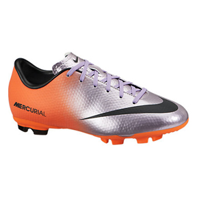 Nike Youth Mercurial Victory IV FG Soccer Shoes (Mach Purple)