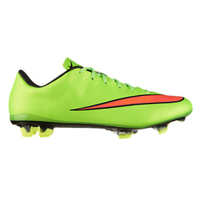 Nike Mercurial Veloce II FG Soccer Shoes (Electric Green)