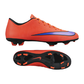 Nike Mercurial Victory V FG Soccer Shoes (Bright Crimson)