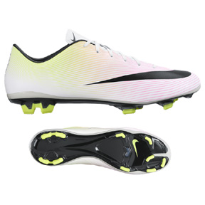 f31f676b32c Nike Mercurial Veloce II FG Soccer Shoes (White Multi)   SoccerEvolution