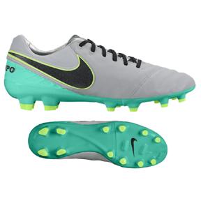 on sale ee361 07418 Nike Tiempo Legacy II FG Soccer Shoes (Wolf Grey Jade)