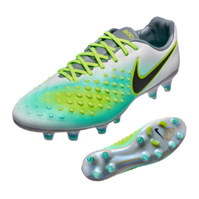 size 40 4be0c 9dfec Nike Magista Opus II FG Soccer Shoes (PlatinumGhost Green)